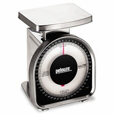 Heavy-Duty Mechanical Package Scale, 50lb Capacity, 6 x 4-3/4 Platform (Set of 2)