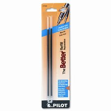 Refill, Non-Retract Better / Bettergrip / Easytouch Ballpoint, Medium, 2/Pack (Set of 5)