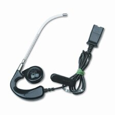 AH41 Mirage Over-The-Ear Telephone Headset with Clear Voice Tube