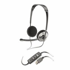 Binaural Over-the-Head Corded Headset