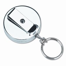 Securit Pull Key Reel Wearable Key Organizer