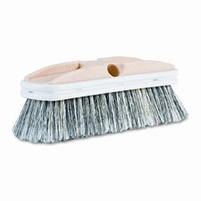 Polystyrene vehicle brush with vinyl bumper, 2-1/2 wide x 10 long