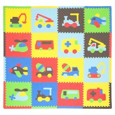16 Piece Transport Playmat Set