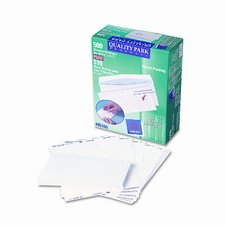 Security Tinted Envelope with Label Impressions, Contemporary, #10, 500/box