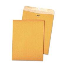 100% Recycled Kraft Clasp Envelope, 9 X 12, 100/Box