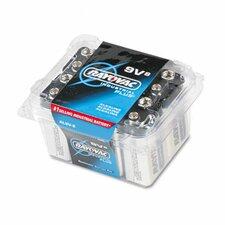 Industrial Plus Alkaline Battery, 8/Pack