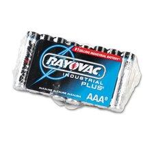 Industrial PLUS Alkaline Batteries, AAA, 8/Pack