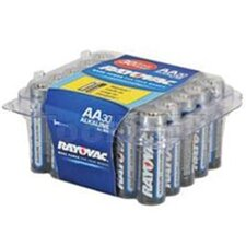 Rayovac Alkaline Reclosable Pro Pack Aa-30