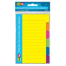 "4"" x 6"" 60 Count Divider Note"