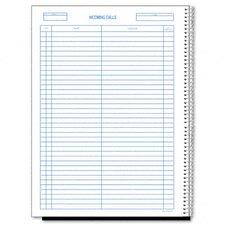Wirebound Call Register, 3700 Forms/Book