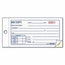 Money Receipt Book, 50 Sets/Book (Set of 3)