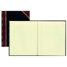 """Book W/Margin, Record-Ruled, 300 Pages, 14-1/4""""x11-1/4"""", BK"""