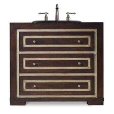 "Designer Series 36"" Mahoney Sink Chest Vanity Base"