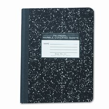 Marble Cover Composition Book, Wide Rule, 9-3/4x7-1/2, 60 Pages (Set of 3)