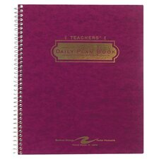 "Teacher Planners, 11-1/32""x8-1/2"", Tri-Pocket Cover, 2013"