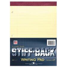 100 Sheet Stiff-Back Writing Pad