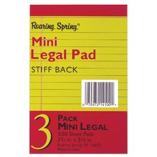 50 Sheet Mini Legal Pad