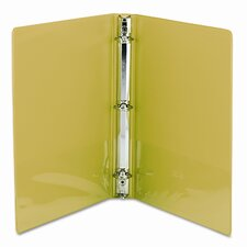 Presentation Binder, Round Ring, 11 X 8-1/2, 2/Pack