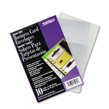 Business Card Binder Refill Pages, 10 Pages/pack (Set of 2)