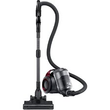 Bagless Canister Vacuum with Power Brush