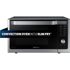 1.1 Cu. Ft. 1000W Countertop Microwave in Silver