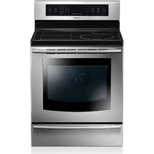 5.9 Cu. Ft. Electric Convection Range in Stainless Steel