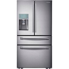 16.41 cu. ft. French Door Refrigerator in Stainless Steel with Automatic Sparkling Water Dispenser
