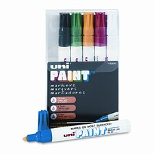 Uni-Paint Marker, 6/Set