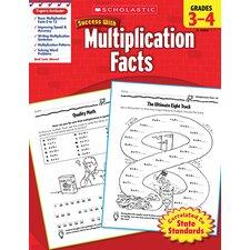 Scholastic Success Multiplication Book