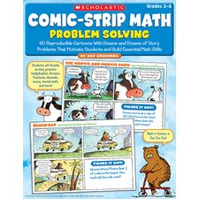 Comic Strip Math Problem Solving Book