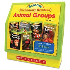 Science Vocabulary Readers Book