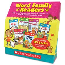 Scholastic Word Family Readers Set Book