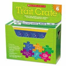 Trait Crate Books for Grade 6 Book (Set of 6)