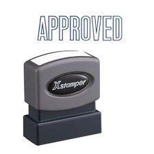 Approved Impression Stamp
