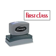 First Class Impression Stamp