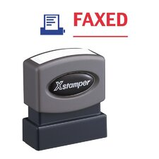 Faxed Impression Stamp