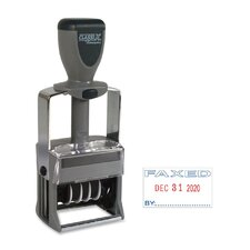Dater and Faxed Impression Stamp