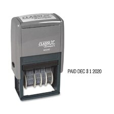 Dater and Paid impression Stamp