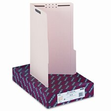 Two Fasteners 1/3 Cut Third Position Folder, 50/Box