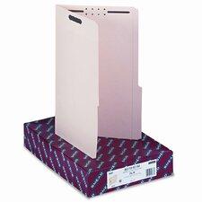 Two Fasteners 2/5 Cut Right Top Tab Folder, 50/Box