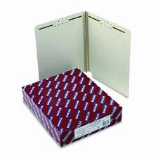 Two Fasteners End Tab Three Inch Expansion Folder, 25/Box