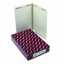 Two Fasteners End Tab Folder, 25/Box