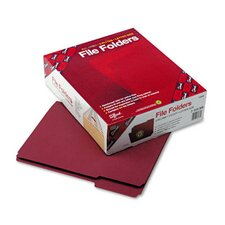 1/3 Cut Reinforced Top Tab File Folders, 100/Box