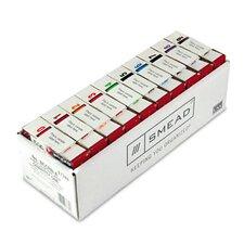 Single Digit End Tab Labels Color 0-9 Assortment, 500/Roll, 5000 Labels/Box