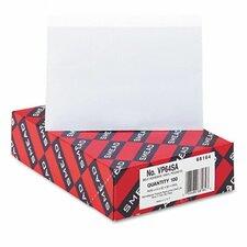 Self-Adhesive Poly Pockets, Top Load, 6-1/4 X 4-9/16, 100/Box