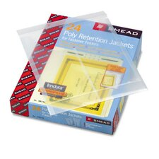 Two-Hole Letter/Legal Accordion Expanding Pockets, 24/Box