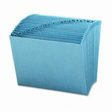 Heavy-Duty A-Z Open Top Accordion Expanding Files, 21 Pockets