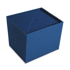Heavy-Duty A-Z Open Top Accordion Expanding Files, 21 Pockets, Letter
