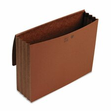 3 1/2 in Expansion Wallets, Redrope, 11 3/4 x 9 1/2, Redrope (Set of 2)