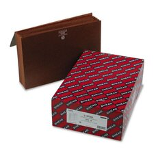 """5.25"""" Accordion Expansion Wallets with Cordl, 10/Box"""